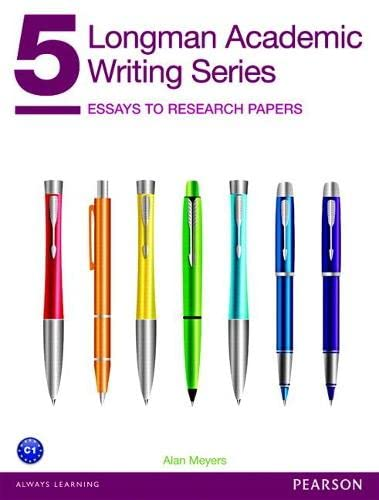 9780132912747: Longman Academic Writing Series 5: Essays to Research Papers