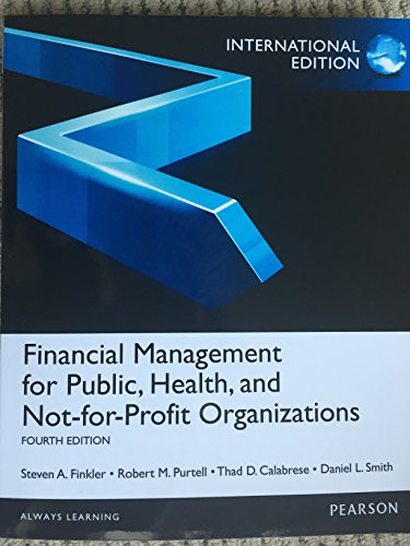 financial management for public, health, and not: a