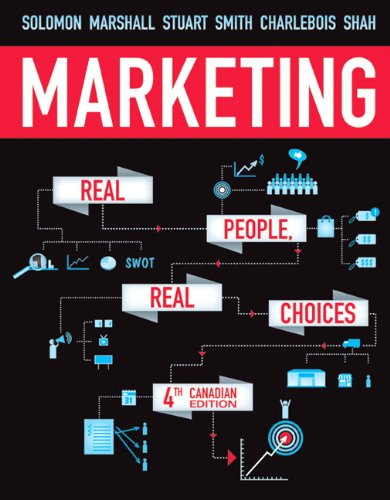 9780132913171: Marketing: Real People, Real Choices, Fourth Canadian Edition with MyMarketingLab (4th Edition)