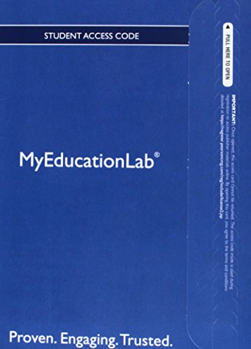9780132913560: NEW MyEducationLab with Pearson eText -- Standalone Access Card -- for Integrating Educational Technology into Teaching