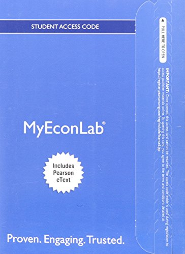 9780132913928: NEW MyEconLab with Pearson eText -- Access Card -- for Essential Foundations of Economics (MyEconLab (Access Codes))
