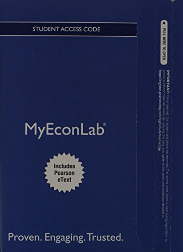 9780132914130: NEW MyEconLab with Pearson eText -- Access Card -- for Microeconomics (MyEconLab (Access Codes))