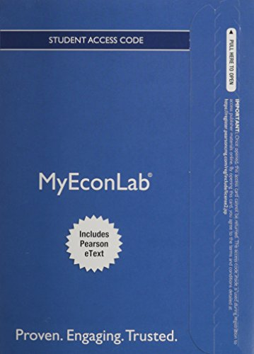 NEW MyEconLab with Pearson eText -- Access: Glenn P. Hubbard;