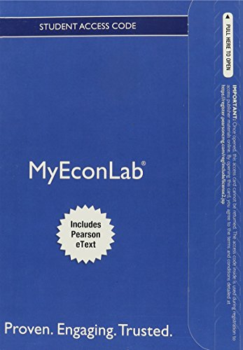 9780132914567: NEW MyLab with Pearson eText -- Access Card -- for Money, Banking, and the Financial System (MyEconLab (Access Codes))