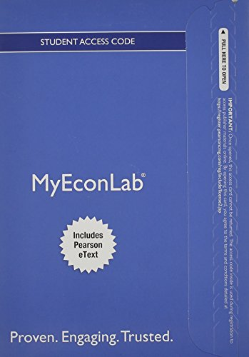 NEW MyEconLab with Pearson eText -- Access: Robert, Pindyck; Daniel,