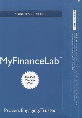 9780132914727: NEW MyFinanceLab with Pearson eText -- Access Card -- for Principles of Managerial Finance, Brief (MyFinanceLab (Access Codes))
