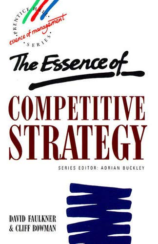 9780132914772: Essence Competitive Strategy