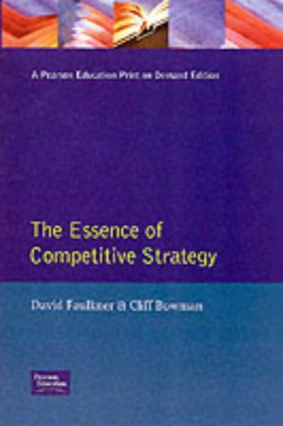 9780132914772: Essence Competitive Strategy (Essence of Management Series)