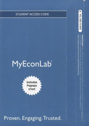 9780132914819: NEW MyEconLab with Pearson eText -- Access Card -- for Macroeconomics (MyEconLab (Access Codes))