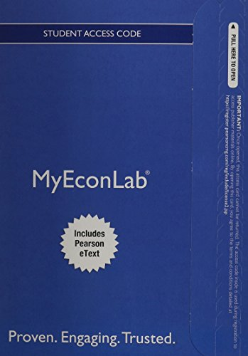 9780132914833: NEW MyEconLab with Pearson eText -- Access Card -- for Microeconomics (MyEconLab (Access Codes))