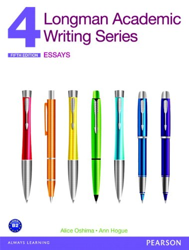 9780132915694: Longman Academic Writing Series 4: Essays