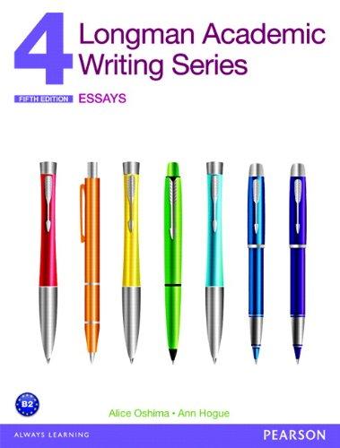 Longman Academic Writing Series 4: Essays (5th