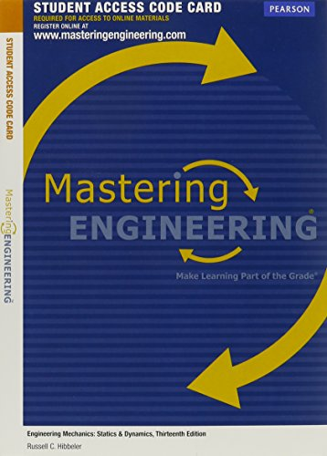 9780132915731: MasteringEngineering without Pearson eText -- Access Card -- for Engineering Mechanics: Statics & Dynamics