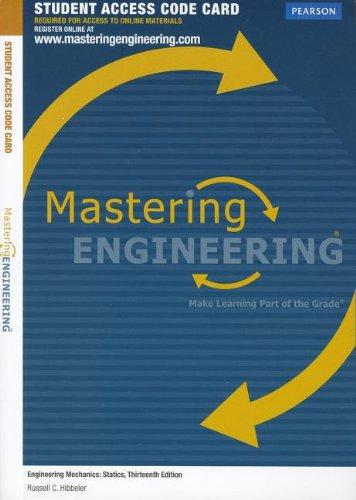 9780132915793: MasteringEngineering -- Access Card -- for Engineering Mechanics: Statics