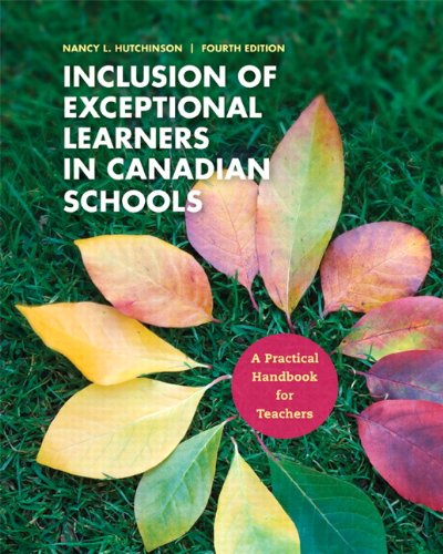 9780132916127: Inclusion of Exceptional Learners in Canadian Schools: A Practical Handbook for Teachers (4th Edition)