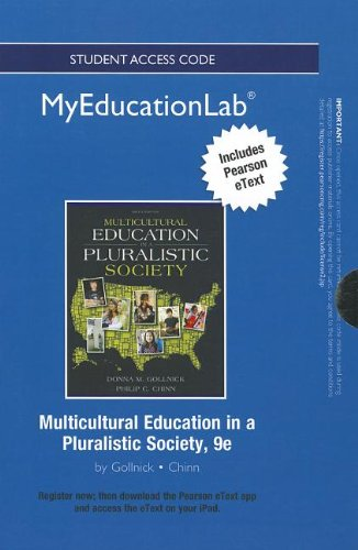 9780132916493: NEW MyEducationLab with Pearson eText -- Standalone Access Card -- for Multicultural Education in a Pluralistic Society (myeducationlab (Access Codes))