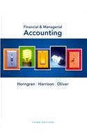 9780132916899: Financial & Managerial Accounting, and NEW MyAccountingLab -- Access Card -- for Financial & Managerial Accounting Package (3rd Edition)