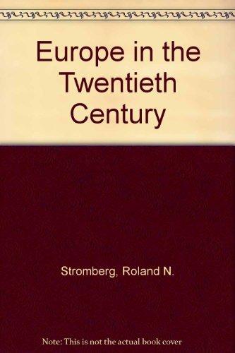 9780132917827: Europe in the Twentieth Century