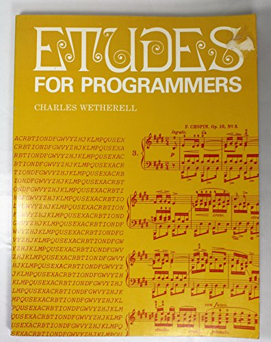 9780132918077: Etudes for Programmers