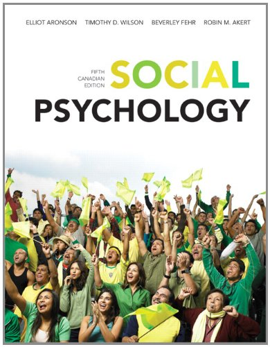 9780132918350: Social Psychology, Fifth Canadian Edition with MyPsychLab (5th Edition)