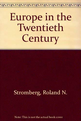 9780132918817: Europe in the Twentieth Century