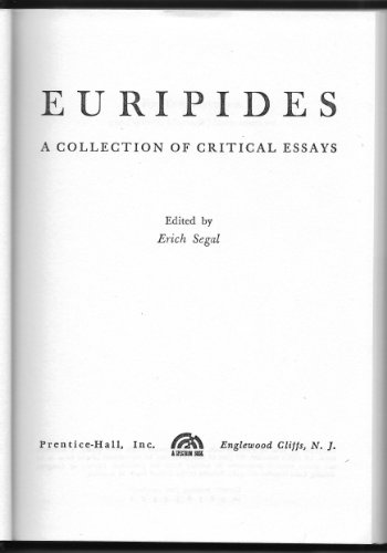 9780132919302: Euripides