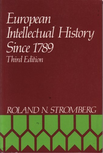 9780132919555: European Intellectual History Since 1789