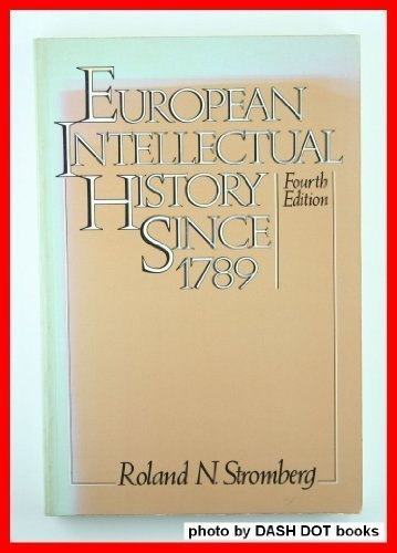 9780132920469: European Intellectual History Since 1789