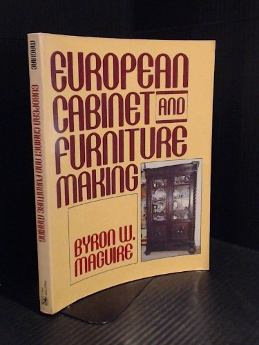 9780132920537: European Cabinet and Furniture Making