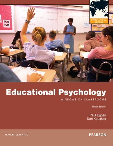 9780132920858: Educational Psychology: Windows on Classrooms
