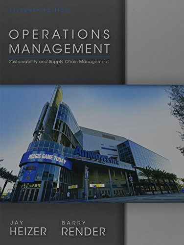 9780132921145: Operations Management: Sustainability and Supply Chain Management