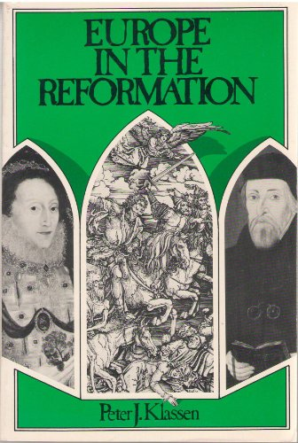 9780132921367: Europe in the Reformation