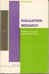 9780132921930: Evaluation Research: Methods of Assessing Program Effectiveness