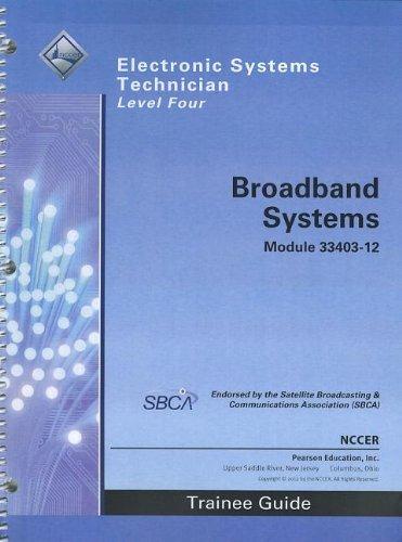 9780132922586: 33403-12 Broadband Systems Tg