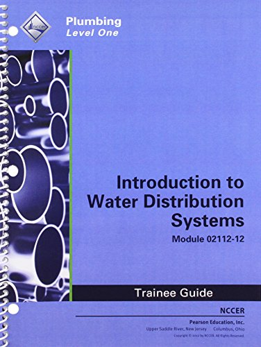 9780132923323: 02112-12 Introduction to Water Distribution Systems Tg