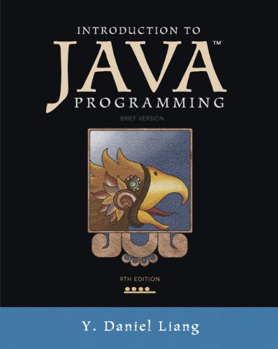 9780132923736: Introduction to Java Programming, Brief Version