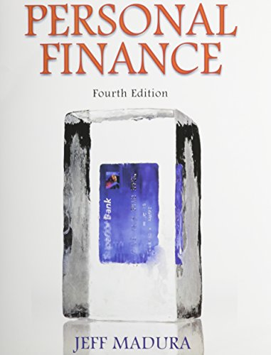 9780132924221: Personal Finance with Pearson eText plus NEW MyFinanceLab Access Card (1-semester access) (4th Edition) (Prentice Hall Series in Finance)