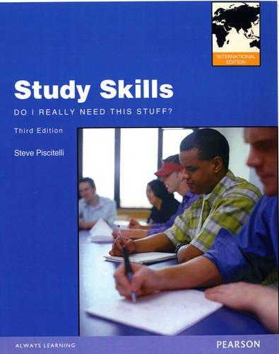 9780132925136: Study Skills: Do I Really Need This Stuff?