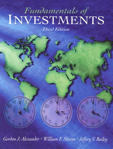 Fundamentals of Investments (3rd Edition): Alexander, Gordon J.;