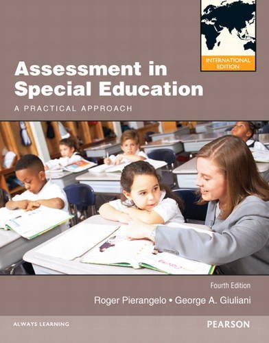 9780132927307: Assessment in Special Education: A Practical Approach: International Edition