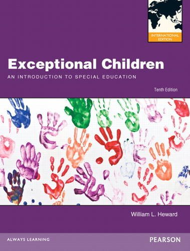 9780132927932: Exceptional Children: An Introduction to Special Education