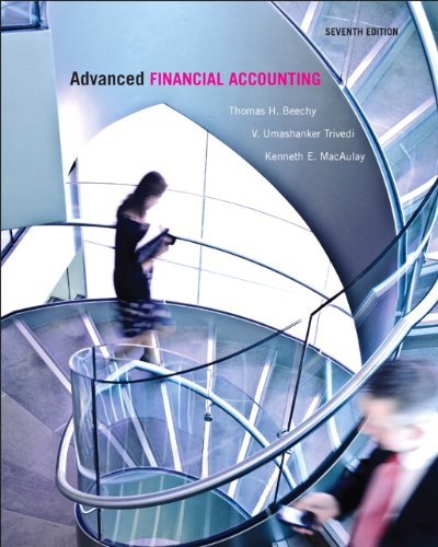 9780132928939: Advanced Financial Accounting