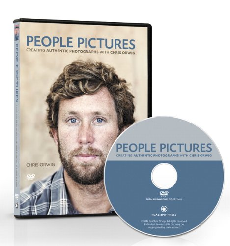 9780132929073: People Pictures: Creating Authentic Photographs with Chris Orwig, DVD