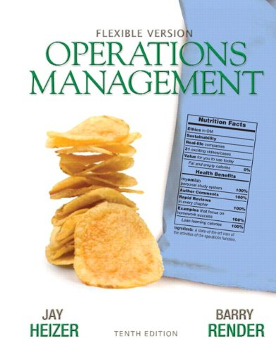 9780132931250: Operations Management Flexible Version Plus Lecture Guide and Activities Manual Plus NEW MyOMLab with Pearson eText -- Access Card Package (10th Edition)