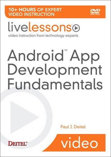 9780132931793: Android App Development Fundamentals Part I LiveLessons (video Training) - DVD