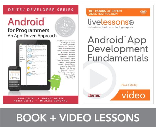 9780132931809: Android App Development Fundamentals LiveLessons Bundle (Livelessons: Deitel Developers Series)
