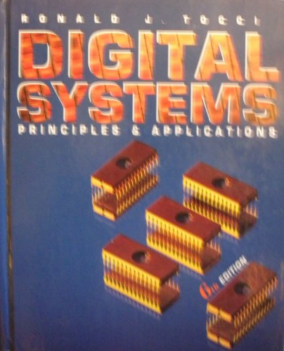 Digital Systems Principles & Applications 6th Edition: Ronald Tocci