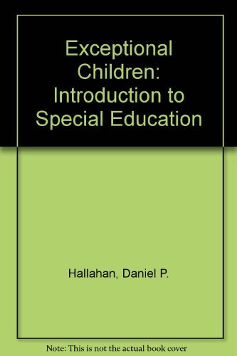 9780132933339: Exceptional Children: Introduction to Special Education