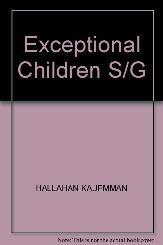 9780132933582: Study Guide: Exceptional Children, Fifth Edition