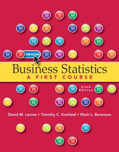 9780132934534: Business Statistics Plus MyStatLab with Pearson eText -- Access Card Package (6th Edition)